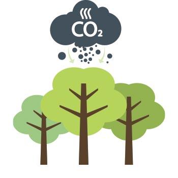 carbon capture icon